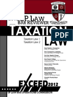 UP Taxation Law Reviewer 2012