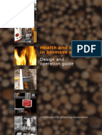 Health and safety in biomass systems