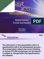 PCI Express Futures