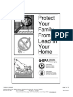 protect your family from lead in your home pamphlet - 62003 ts25302