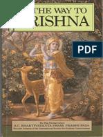 On the Way to Krsna - A.C. Bhaktivedanta Swami Prabhu