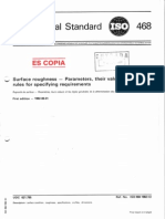 ISO 468 1982-08 Surface Roughness
