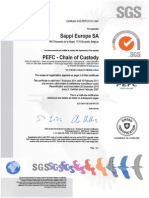 PPEFC Certificate Chain of Custody - Valid Until 15-2-2017