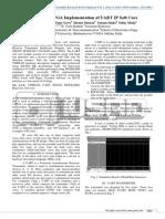 Synthesis & FPGA Implementation of UART IP Soft Core