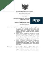 Peraturan Daerah Kota Cimahi Nomor 4 Tahun 2013 tentang Rencana Tata Ruang Wilayah Kota Cimahi Tahun 2012 - 2032