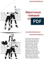 Object Lesson - Volleyball Christians