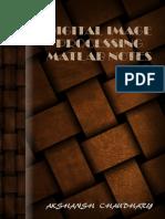 Digital Image Processing MATLAB Notes