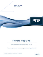 Private Copying report