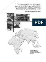 Implementation and Replication of SCP Process at City and National Level