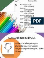 Alkaloid Inti Imidazol