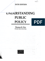 Public Policy Dye Study Material