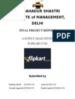 SCM of Flipkart