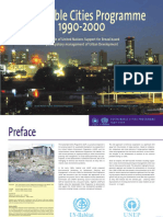 Sustainable Cities Programme 1990 - 2000