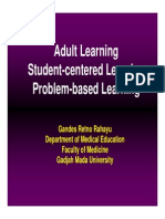 PBL Adult Learning