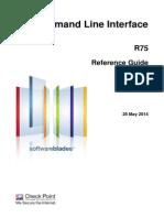 CP R75 CLI ReferenceGuide