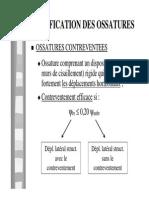Classification Des Ossatures
