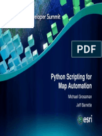 Python Scripting for Map Automation