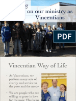 5 Reflections On Our Ministry As Vincentians
