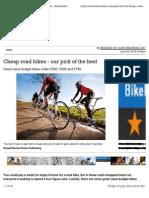 Cycle advice
