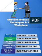 Effective Motivetion Technic in Workplace 1