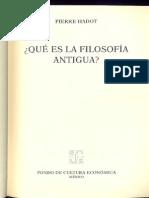 Hadot Pierre - Que Es La Filosofia Antigua