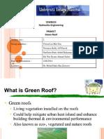 Presentation Green Roof