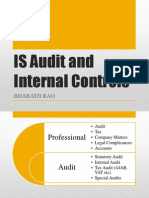 Is Audit and Internal Controls