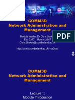 COMM3D Network Administration and Management