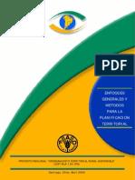 Enfoques generales y métodos para la planificación territorial