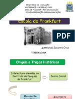Apresentação - Escola de Frankfurt - Versão Final