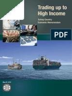 Trading Up to High Income (English), Turkey Country Economic Memorandum