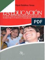 La Educación Como Responsabilidad Social