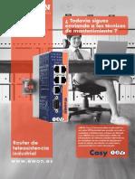 eWON Cosy - Router de teleasistencia industrial