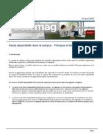 Ciscomag 7 Dossier Haute Disponibilite Dans Le Campus