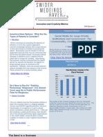 Innovation and Creativity Metrics 2009 Quarter 4