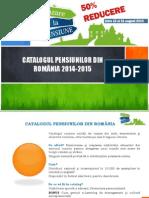 OFERTA - 50% reducere pentru aparitia in Catalogul Pensiunilor Din Romania