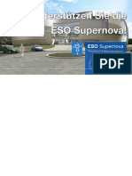 Unterstützen Sie die ESO Supernova!