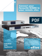 eFive - Connect your favourite SCADA to your remote sites