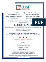 Reception for Elise Stefanik