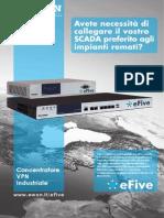 eFive - Avete necessità di collegare il vostro SCADA preferito agli impianti remoti?