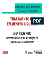 Tratamento de Efluente Líquido - Ciesp-cetesb