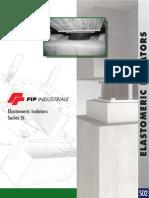 FIP Industriale Elastomeric Isolators