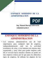 Enfoque Moderno de La Administracion- Clase 3