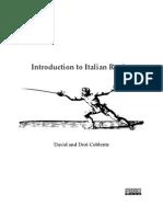 Italian Rapier