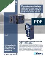 eWON Flexy - carte RTC/PSTN (FR)