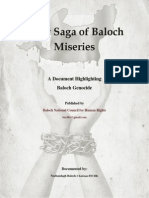 Sorry Saga of Baloch Miseries