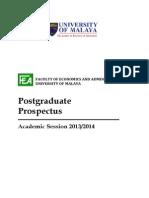 1- Prospectus Higher Degree (2013)