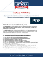 Texas Promise Scholarship