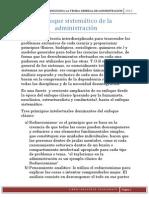 Enfoque Sistemático de La Administración (4)