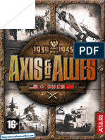 Axis and Allies (2004) - Manual - PC